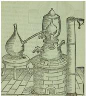 alchemist bain marie (1528)