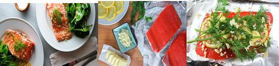 tin foil salmon