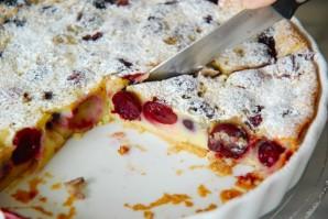 cherry clafoutis manger