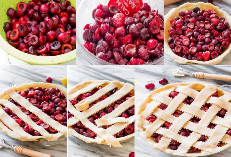 cherry pie steps