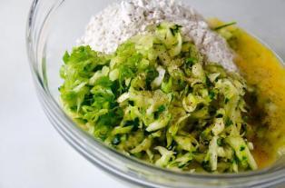 zucchini fritters 2