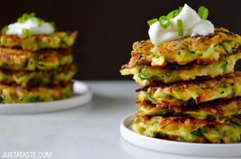 zucchini fritters 4