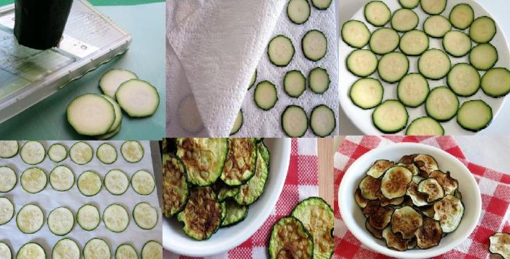 zucchini step by step