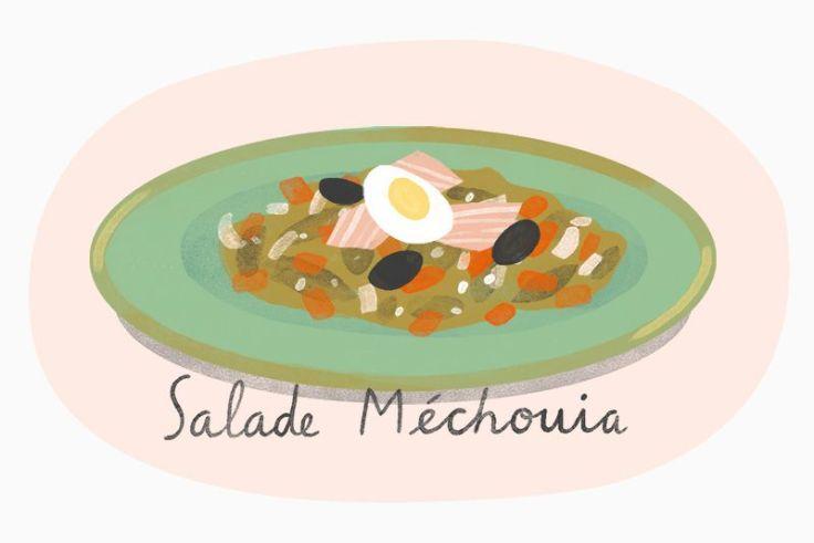 salade meshouia