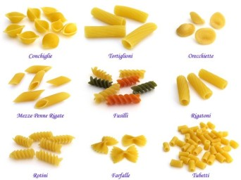 short pasta shapes